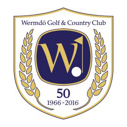 Logo of golf course named Wermdo Golf and Country Club