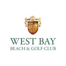 Logo of golf course named West Bay Golf Club