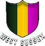Logo of golf course named West Sussex Golf Club
