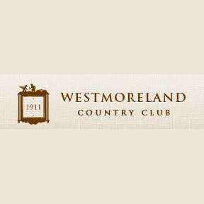 Logo of golf course named Westmoreland Country Club