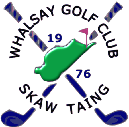 Logo of golf course named Whalsay Golf Club