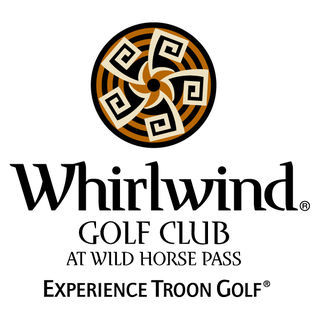 Logo of golf course named Whirlwind Golf Club at Wild Horse Pass - The Devil's Claw