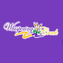 Logo of golf course named Whispering Creek Golf Club