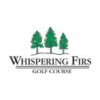 Logo of golf course named Whispering Firs Golf Club