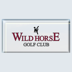 Logo of golf course named Wild Horse Golf Course