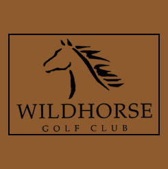 Logo of golf course named Wildhorse Golf Course