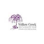 Logo of golf course named Willow Creek Golf and Country Club