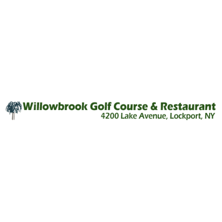 Logo of golf course named Willowbrook Golf Course and Restaurant