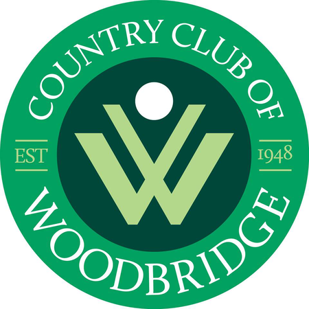 Logo of golf course named Woodbridge Country Club