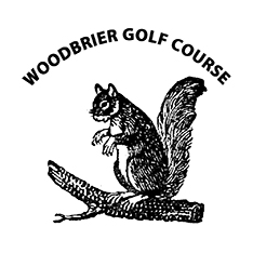 Logo of golf course named Woodbrier Golf Course