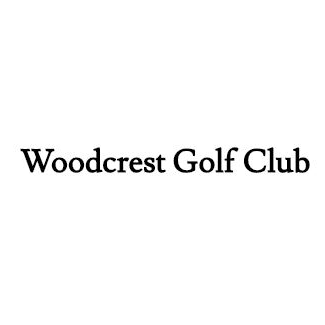 Logo of golf course named Woodcrest Golf Club