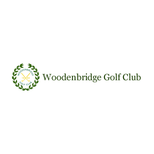 Logo of golf course named Woodenbridge Golf Club