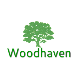 Logo of golf course named Woodhaven Country Club