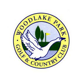 Logo of golf course named Woodlake Park Golf