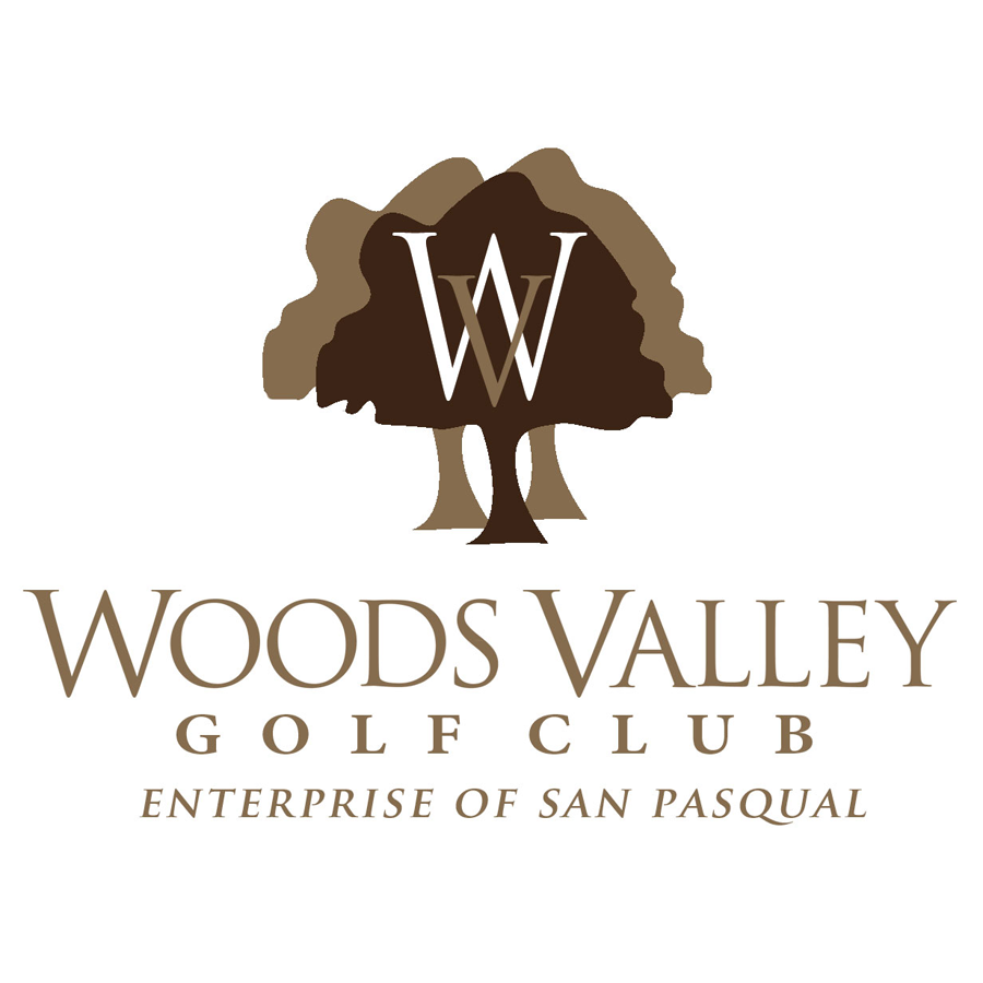 Logo of golf course named Woods Valley Golf Club