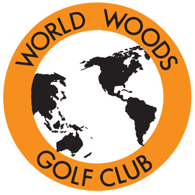 Logo of golf course named World Woods Golf Club - Pine Barrens