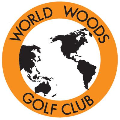 Logo of golf course named World Woods Golf Club - Pine Barrens