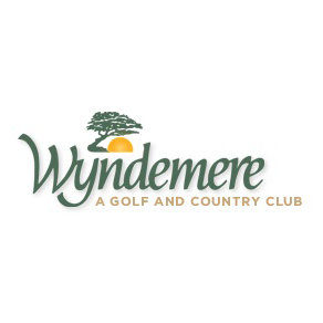 Logo of golf course named Wyndemere Country Club