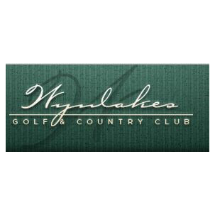 Logo of golf course named Wynlakes Golf and Country Club