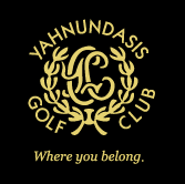 Logo of golf course named Yahnundasis Golf Club