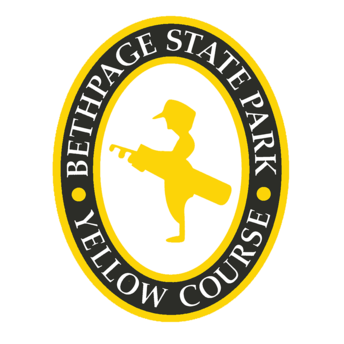 Logo of golf course named Yellow Course at Bethpage State Park Golf