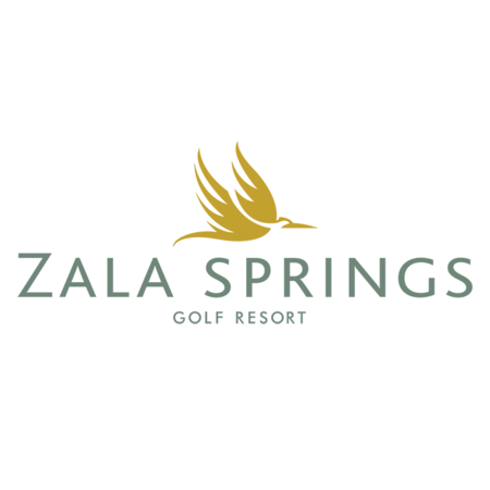 Logo of golf course named Zala Springs Golf Resort