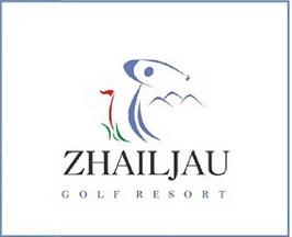 Logo of golf course named Zhailjau Golf Resort