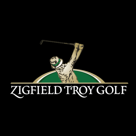 Logo of golf course named Zigfield Troy Golf Range and Par 3