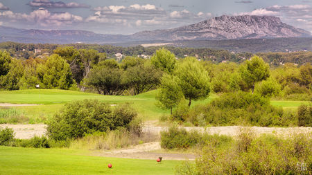 Overview of golf course named Golf la Cabre d'Or