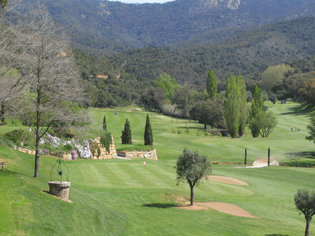 Overview of golf course named Golf de Valcros Hyeres