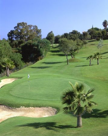 Overview of golf course named Greenlife Golf