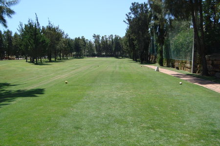 Overview of golf course named La Noria Golf Resort