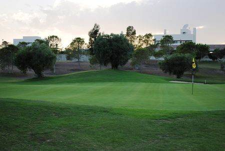 Overview of golf course named La Peraleja