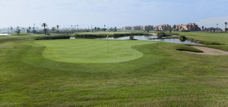 Overview of golf course named La Serena