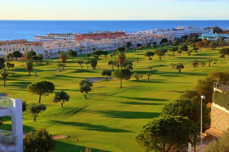 Overview of golf course named Club Marina Golf Mojacar