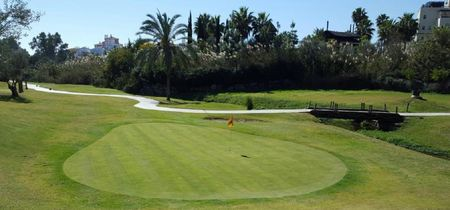 Overview of golf course named El Campanario Golf