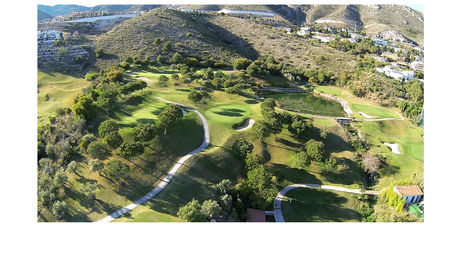 Overview of golf course named Benalmadena Golf