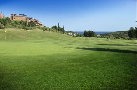 Overview of golf course named Casares Costa Golf