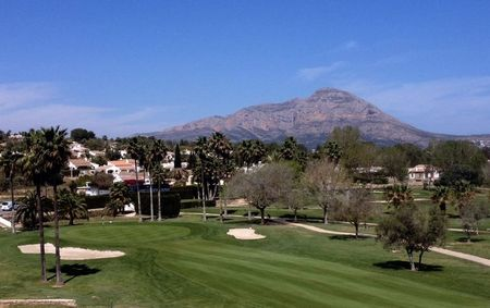 Overview of golf course named Club de Golf Javea