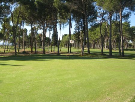 Overview of golf course named Real Club de Golf Manises