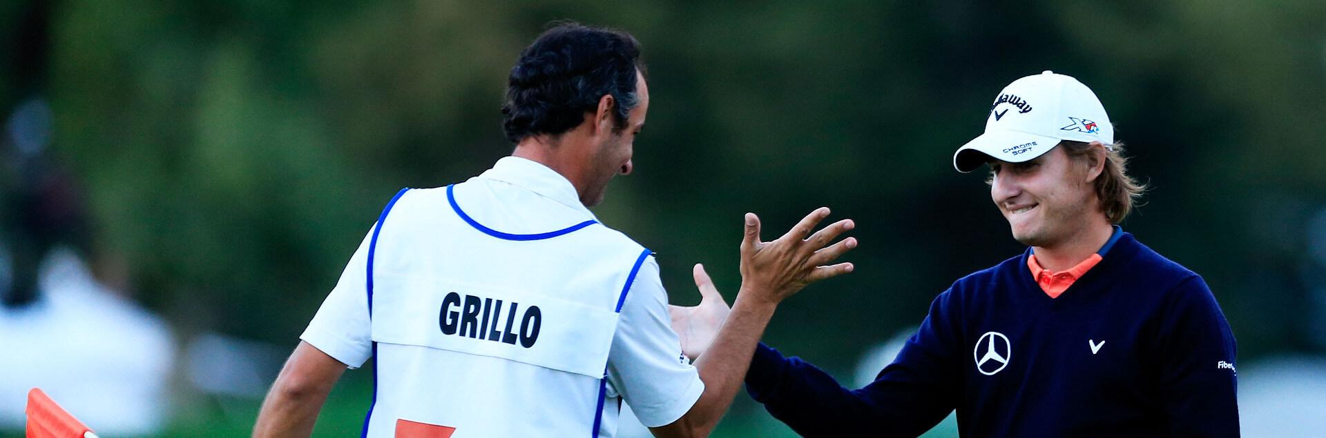 Profile cover of golfer named Emiliano Grillo