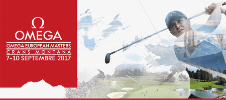 Cover of golf event named Omega European Masters