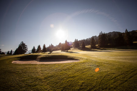 Overview of golf course named Golfclub Gstaad-Saanenland