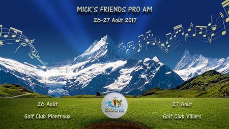 Cover of golf event named Mick's Friends Pro Am Switzerland