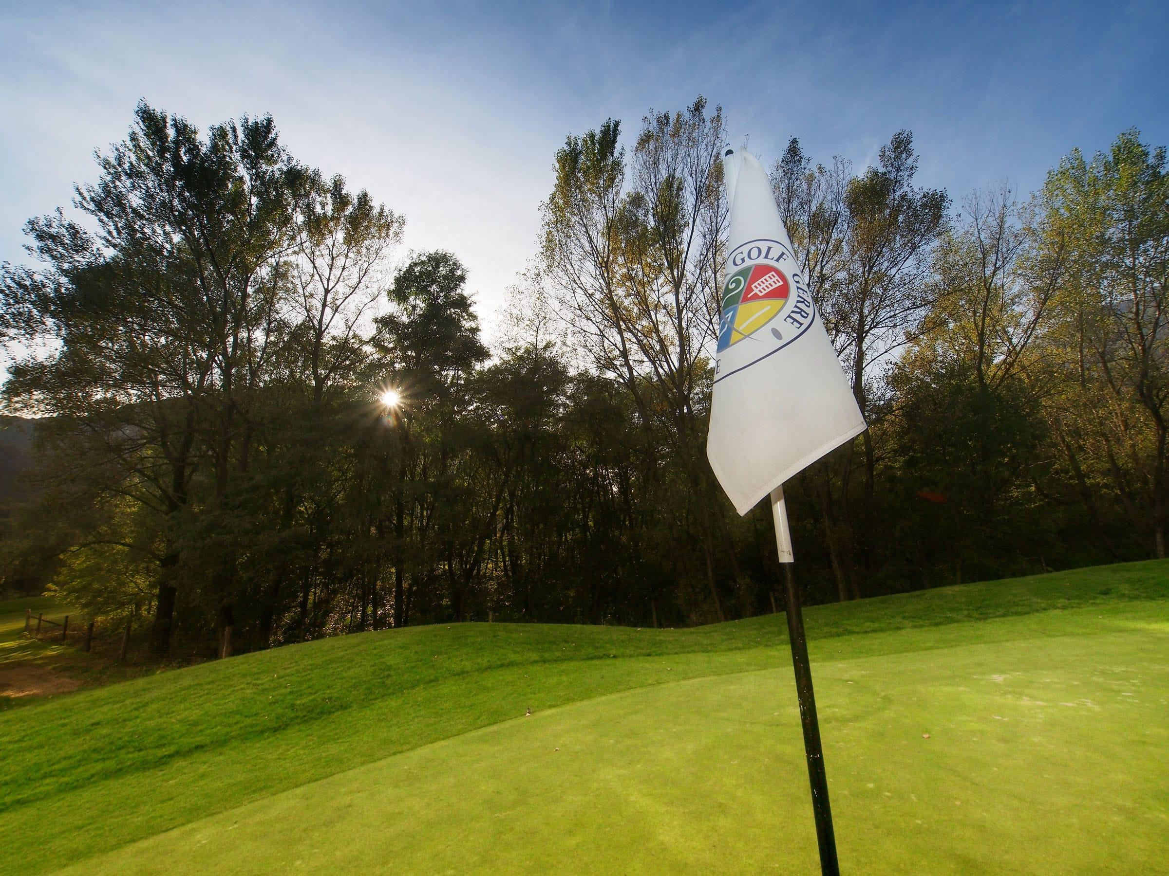 Cover of golf event named Nine & Dine
