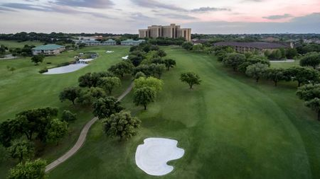 Overview of golf course named TPC Four Seasons Las Colinas