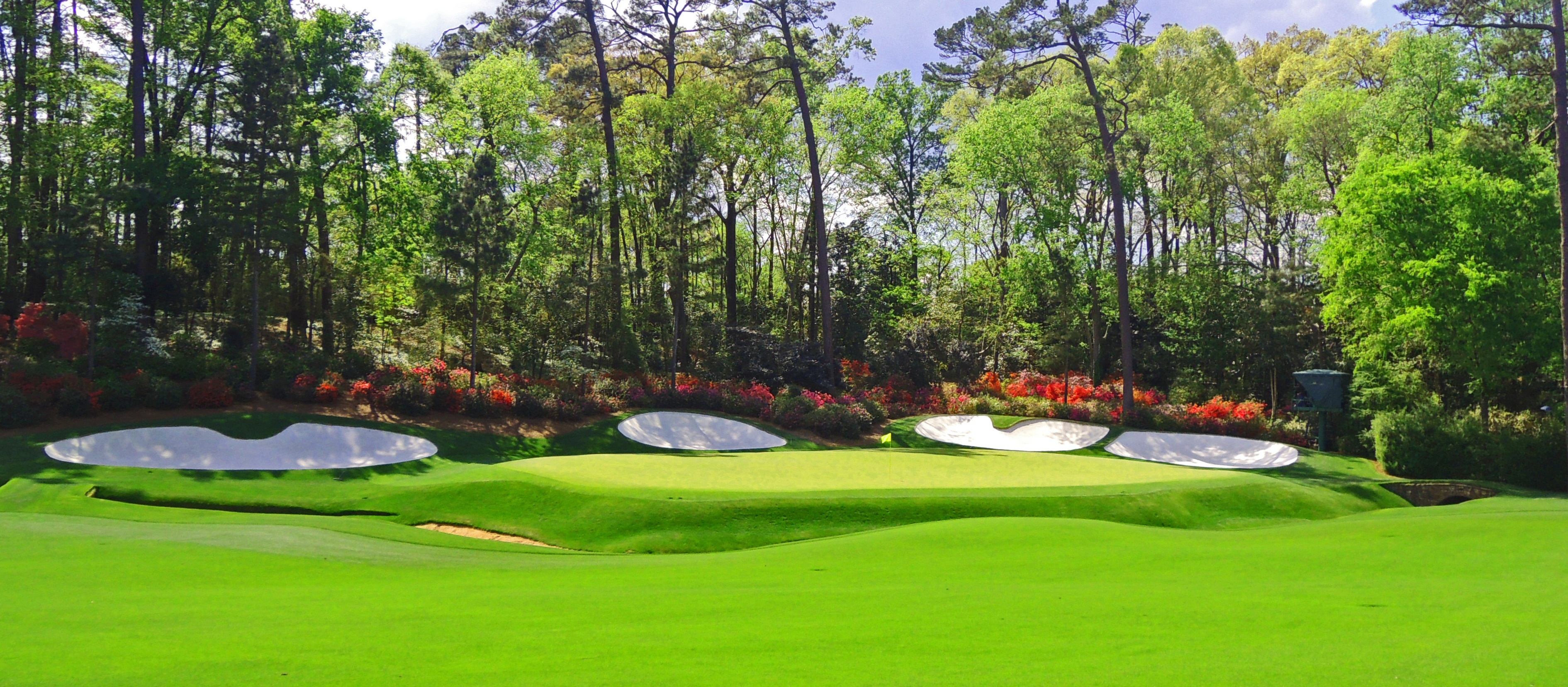 Cover of golf event named US Masters Texas Scramble Competition