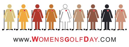 Cover of golf event named Women's Golf Day 2017