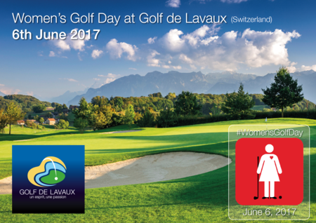 Cover of golf event named Women's Golf Day at Golf de Lavaux - 6th June 2017