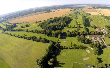 Overview of golf course named Potsdamer Golf Club